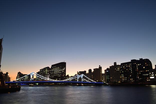 清洲橋 残照