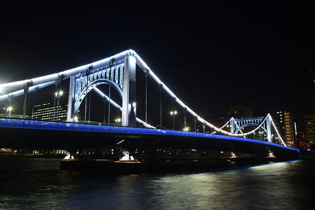 清洲橋 夜景