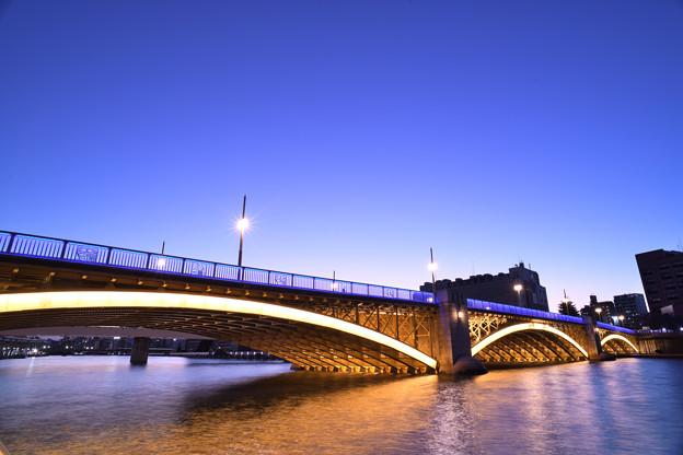 蔵前橋 ライトアップ