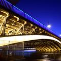 Photos: 蔵前橋 ライトアップ
