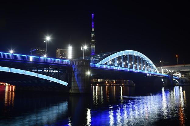 駒形橋 ライトアップ