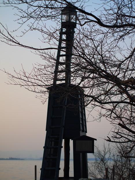 今堅田の出島灯台(でけじまとうだい)11
