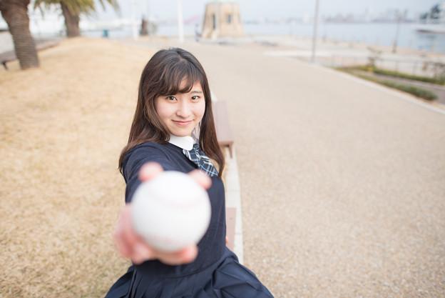 写真: 「常に目標がある人を、私は応援します」3