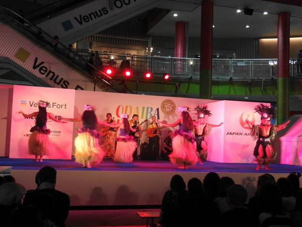 ポリネシアンカルチャーセンターショー1