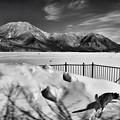 写真: 雪原大沼