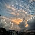 Photos: 台風が