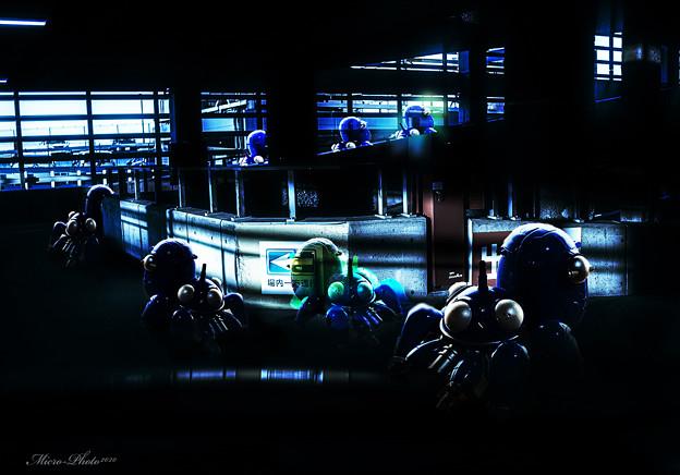 【第146回モノコン】 ~タチコマ潜入ミッション~