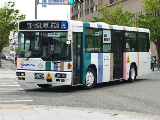 西鉄バス土井9077市立南福岡千早コース