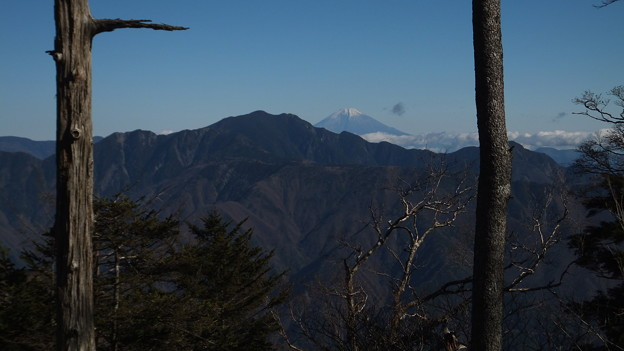 大無間と富士山