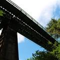 写真: 小海線陸橋