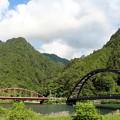 木曽川と阿寺川に架かる二つの橋