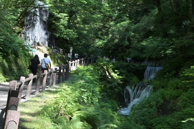 白糸の滝散策路