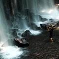 写真: 唐沢の滝・滝壺