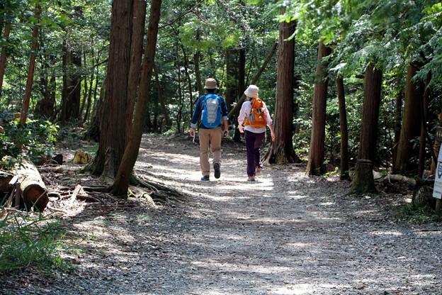 多米峠登山者