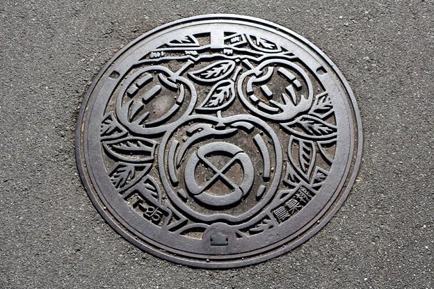 長野県飯田市マンホール