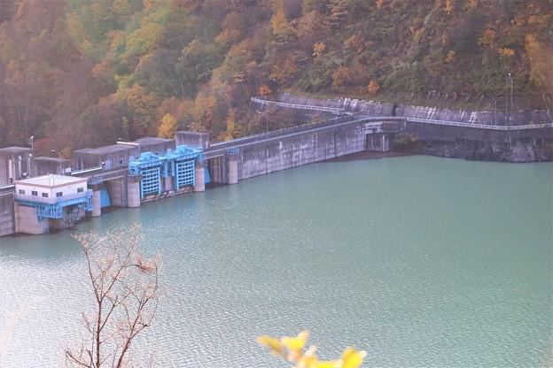 大町ダム堰堤