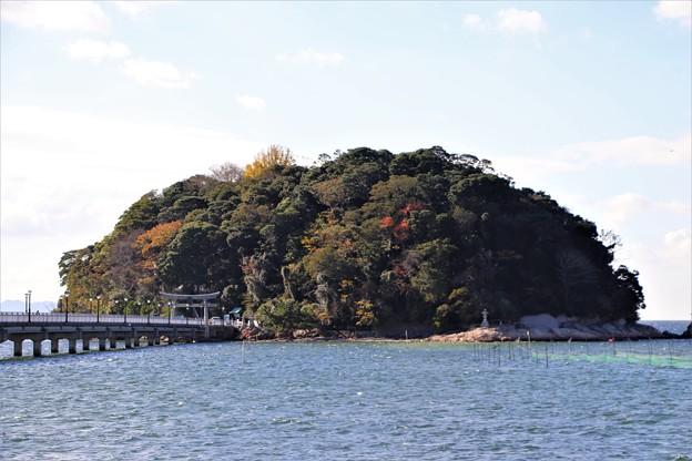 蒲郡のシンボル「竹島」