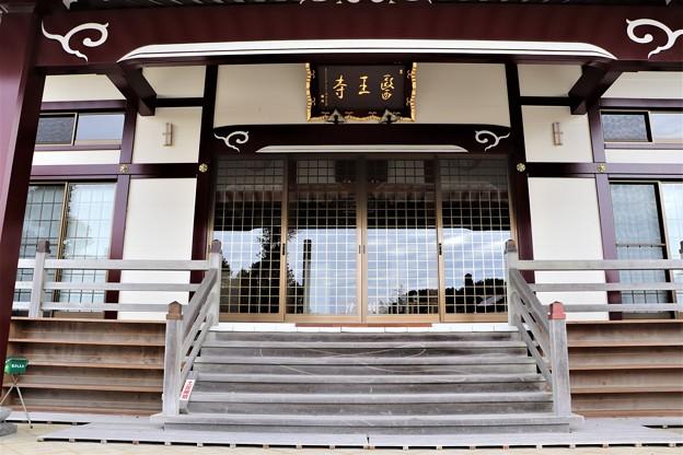 医王寺拝殿