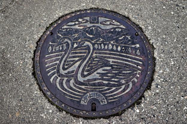 長野県豊科マンホール