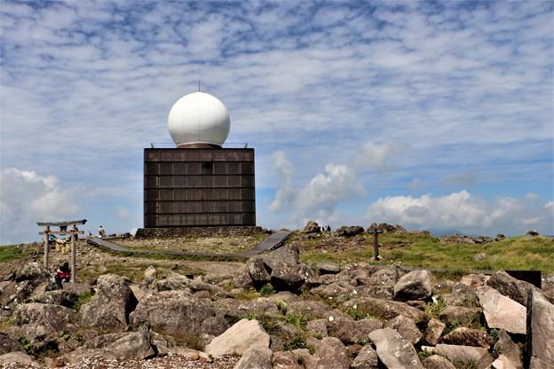 車山気象レーダー観測所