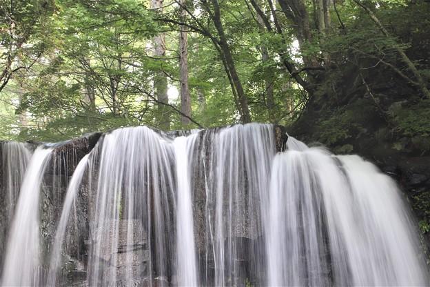 唐沢の滝落ち口