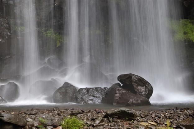 唐沢の滝壺