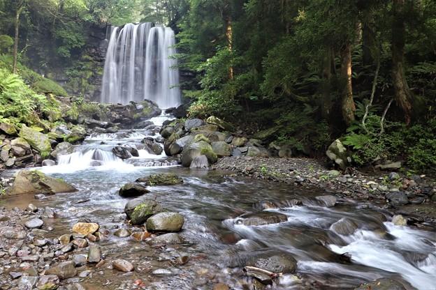 唐沢の滝と渓流
