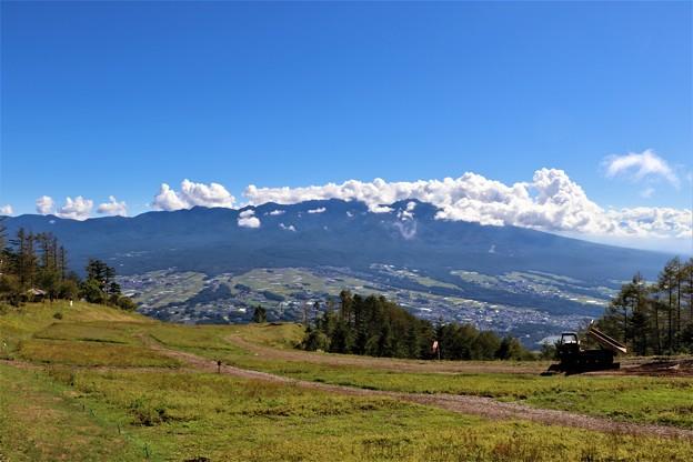 入笠すずらん山野草公園と八ヶ岳連峰