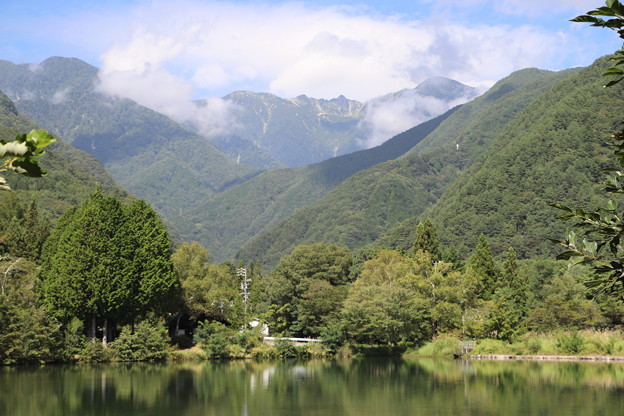 中央アルプスの宝剣岳