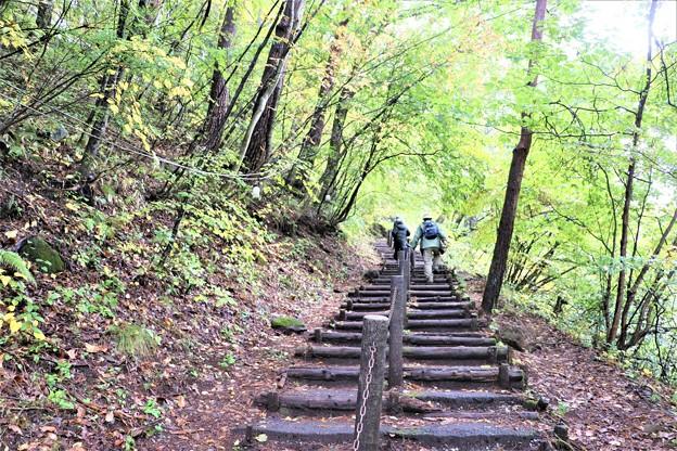 乙女滝散策階段