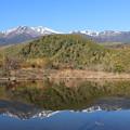 Photos: まいめ池に映し出す乗鞍岳