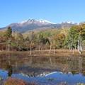 Photos: どじょう池に映し出す乗鞍岳
