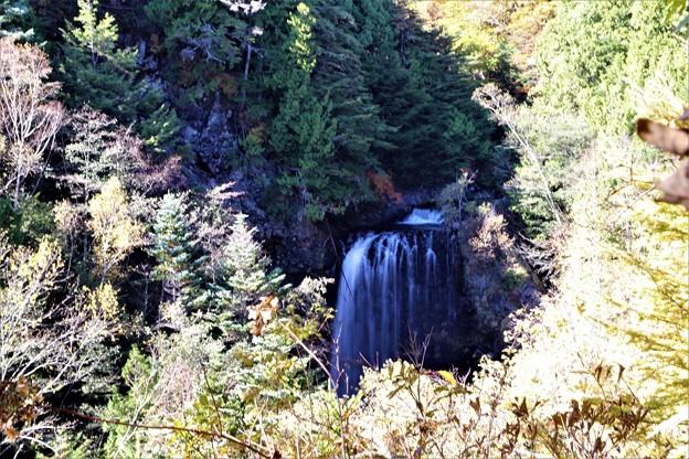 善五郎の滝を眺望