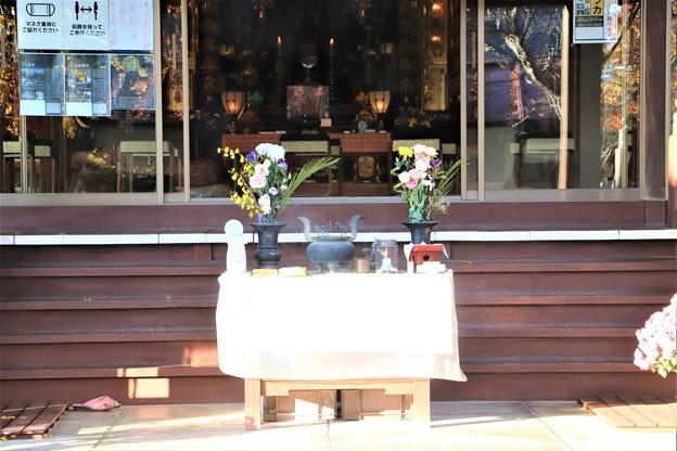 長円寺拝殿
