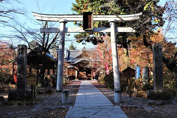 懐古神社参道