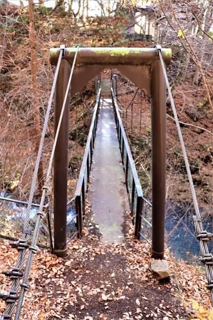柳影橋(りゅうえいきょう)吊り橋