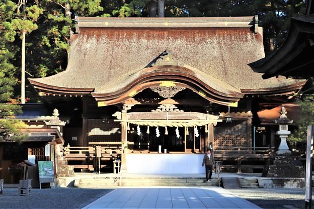 Photos: 小國神社拝殿