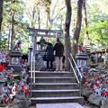 Photos: 狐塚の参拝