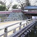 冠木橋(かぶきはし)と冠木門