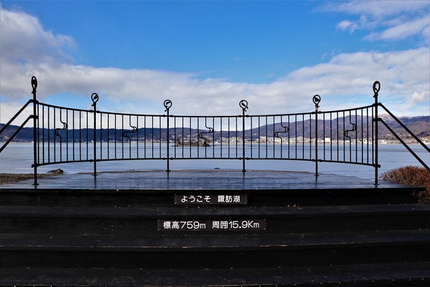 諏訪湖展望台