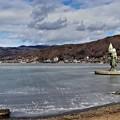 Photos: 凍結の諏訪湖