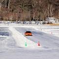 Photos: 氷上ドライブ