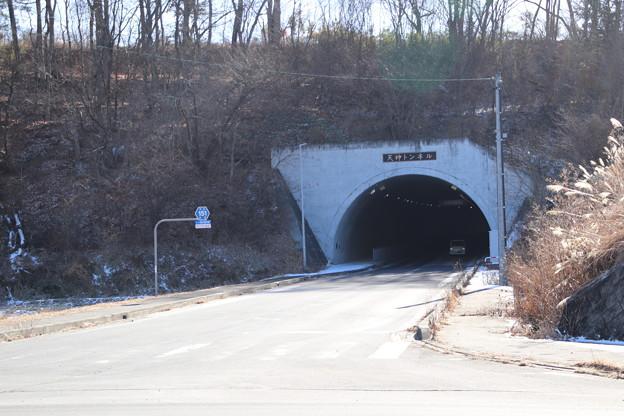 長野県道151線天神川トンネル
