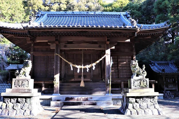 大神山八幡宮社殿