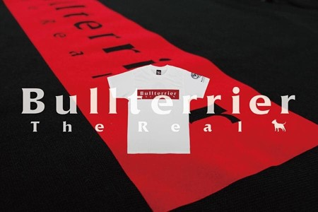 【新発売】ブルテリアTシャツ「ロゴフロTシャツ」