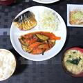 Photos: なすのみぞれ炒め定食