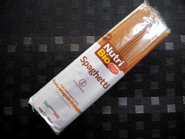業務スーパー オーガニック全粒粉スパゲッティ