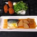 鯖&牡蠣フライ定食