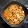 白菜とツナ缶のさっと煮