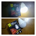 Photos: ダイソー 電球型USBライト
